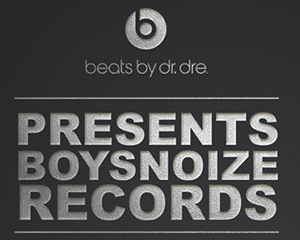 beats by dr. dre presents boysnoize records