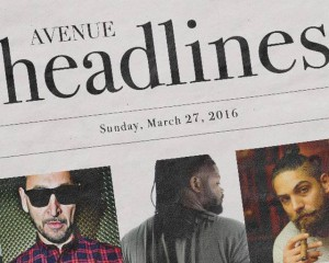 AVENUE Headlines | Sunday