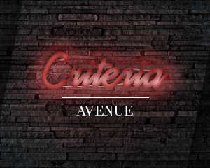 AVENUE Criteria | Saturday