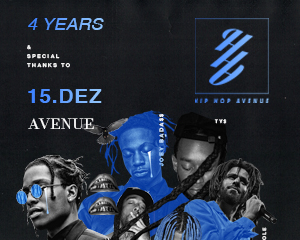 4 Years HIP HOP AVENUE | 14.12.17