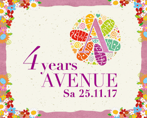 4 Years AVENUE • Sat 25th Nov