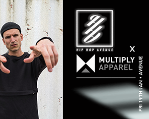Hip Hop AVENUE  x Multiply Apparel | Fr 19.01.