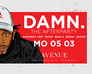 DAMN. The After Show  | Mon 05.03.18