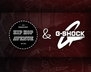 HIP HOP AVENUE & G-SHOCK| Friday