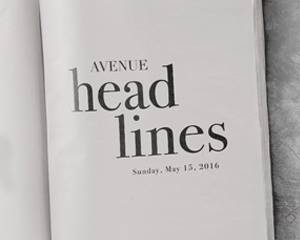 AVENUE Headlines x KDK | Sunday