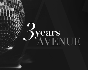 3 Years AVENUE | Saturday
