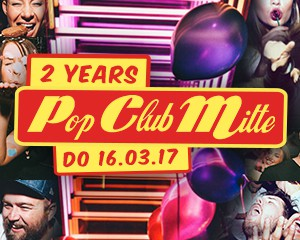 2 Years Pop Club Mitte