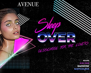 Sleep Over – Hip Hop for the Lovers | 02.10.17