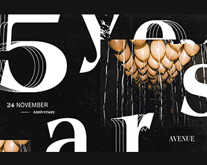 5 Years of AVENUE | Sat 24.11.18
