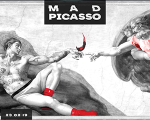 Mad Picasso – Hip Hop & Art II | Sat 23.02.19