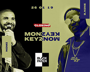 Monkeyz x Black Paper • Closing Party | Sat 26.01.19