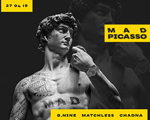 Mad Picasso | Sat 27.04.
