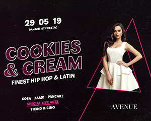 Cookies & Cream | Wed 29.05.