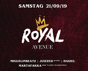 Royal Avenue | Sat 21.09.