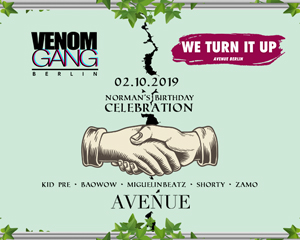 We Turn it Up x Venom Gang | 02.10.