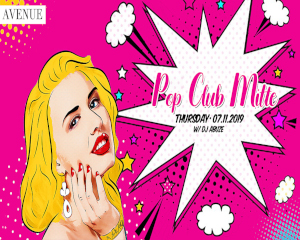 POP CLUB MITTE | Thu 07.11.