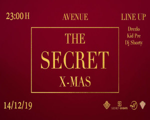 The Secret X-Mas Grand Opening | Sat. 14.12.