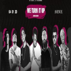 We TURN it UP | Sat. 04.01.