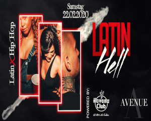 Latin Hell – Latin & Hip Hop Party | 22.02.